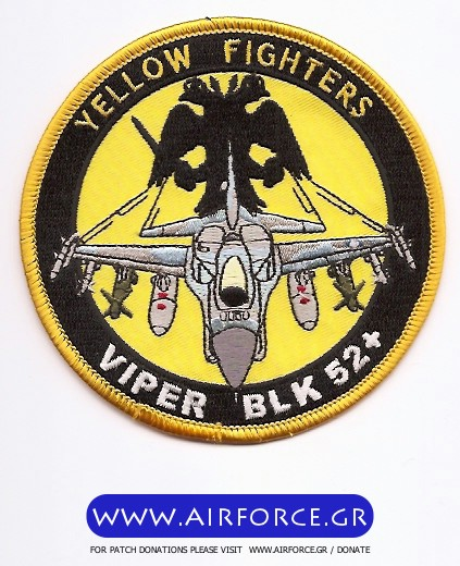 F 16 Yellow Fighters